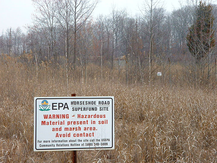 hazardous waste and superfund sites Toxmap:® environmental health maps use quick search or click on a map to explore on-site toxic chemical releases and hazardous waste sites from the epa's toxics release inventory and the superfund national priorities list.